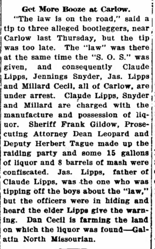 Chillicothe Tribune 12 Oct 1923 -