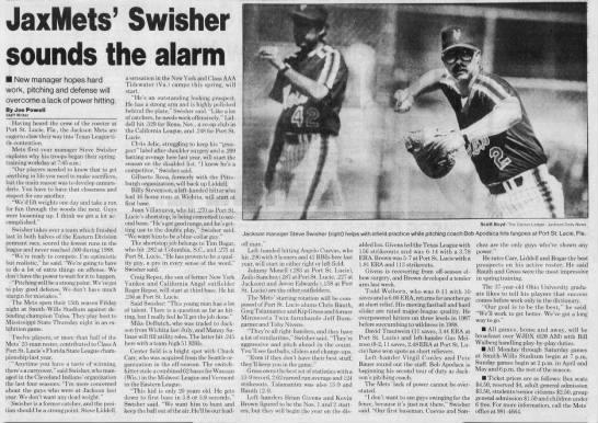 Craig Repoz - April 2, 1989 -