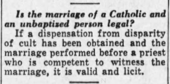 Clipping from The Catholic Advance - Newspapers com