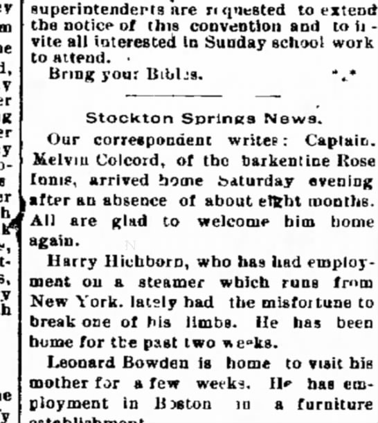 Bangor Daily Whig and Courier 12 Jan 1898 Wed -