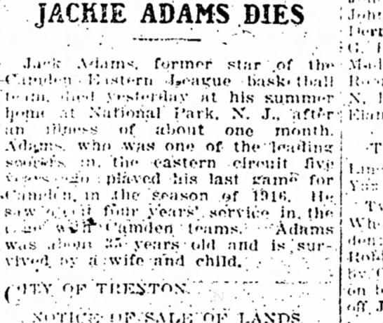 Jackie Adams -