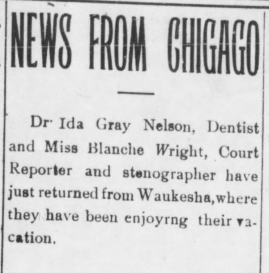 News from Chicago. The Montana Plaindealer (Helena, Montana) September 20, 1907, p 1 -