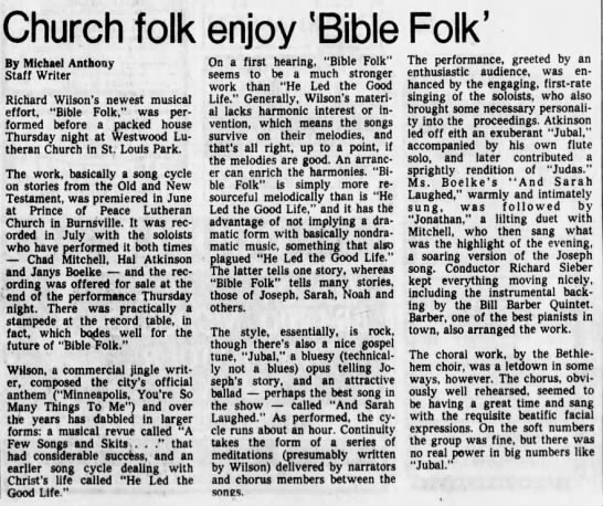 Clipping from Star Tribune - Newspapers com