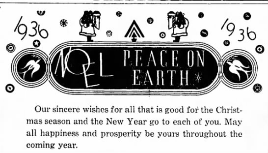 Peace on Earth - Our sincere wishes for all that is good for the...