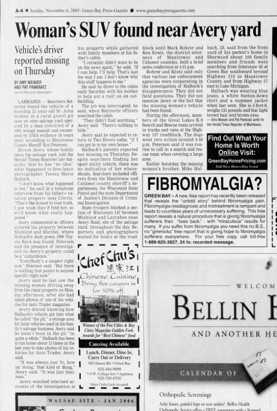 Nov 6 2005 Halbach Case Avery -