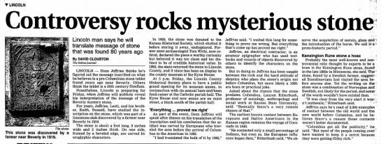 Beverly Mystery Stone -
