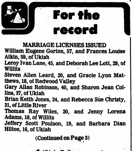 Ukiah Daily Journal 30 November 1982, Page 2 -