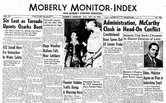 Moberly Monitor Paper5-29-1954 -