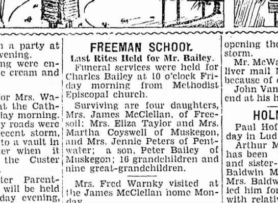 1931 Charles Bailey obit -