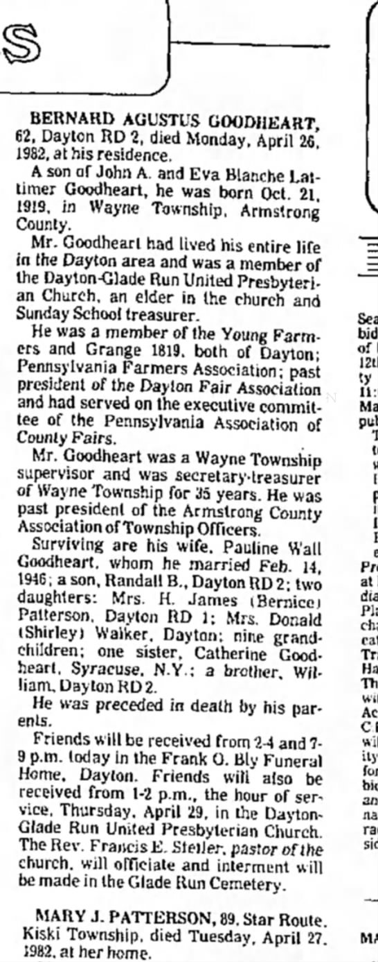 1982 April 28 Wednesday Indiana Gazette -