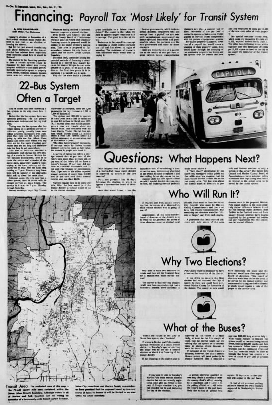 January 1976 mass transit district election -