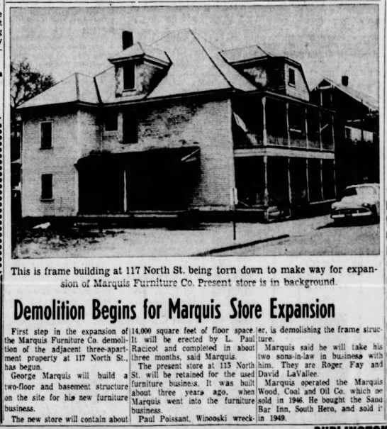 Marquis Furniture Store Expansion 13 May 1959 Newspapers Com