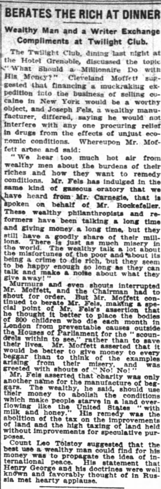The New York Times (New York, New York) 4 April 1911  Page 3 -