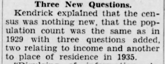 1940 census asks residence in 1935 -