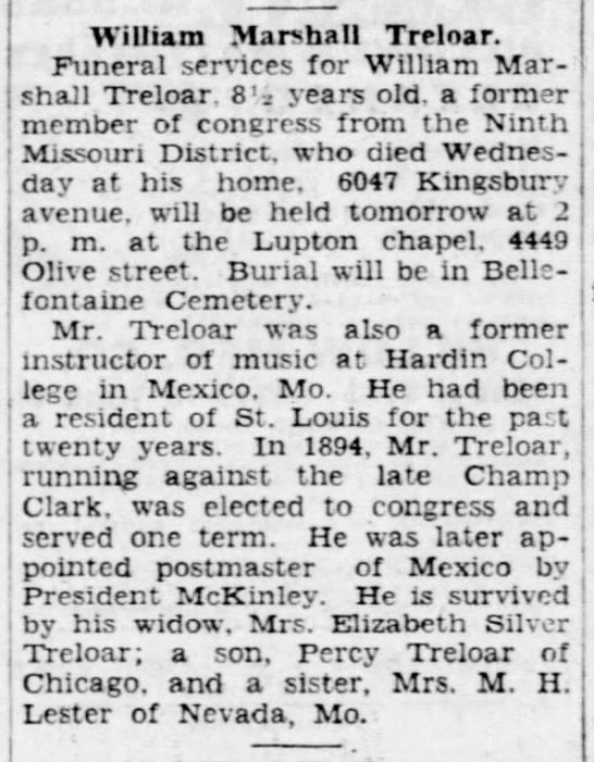 William M. Treloar (1850-1935) -