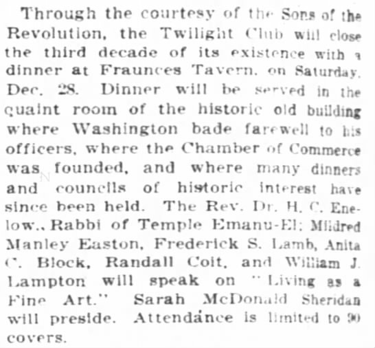 The New York Times (New York, New York) 22 December 1912  Page 70 -