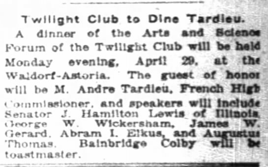 The New York Times (New York, New York) 21 April 1918  Page 26 -