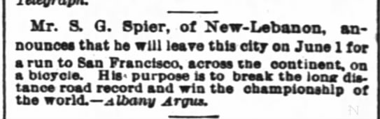 Spier, NY Times, 8 March 1886 -