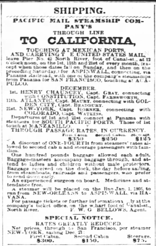 New York Times 21 Dec 1865 -