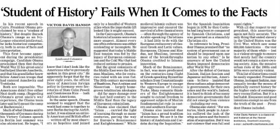 Student of History' Fails When It Comes to the Facts - Newspapers com