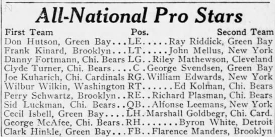 All-National Pro Stars -