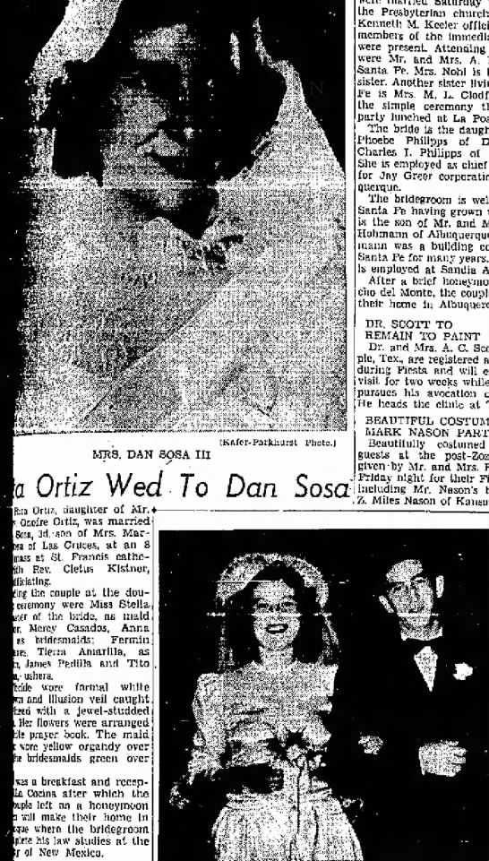 Clipping from The Santa Fe New Mexican - Newspapers com