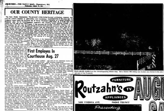 GreenSPringFurnaceJacquesHouseDaily Mail 14 Aug 1963 -
