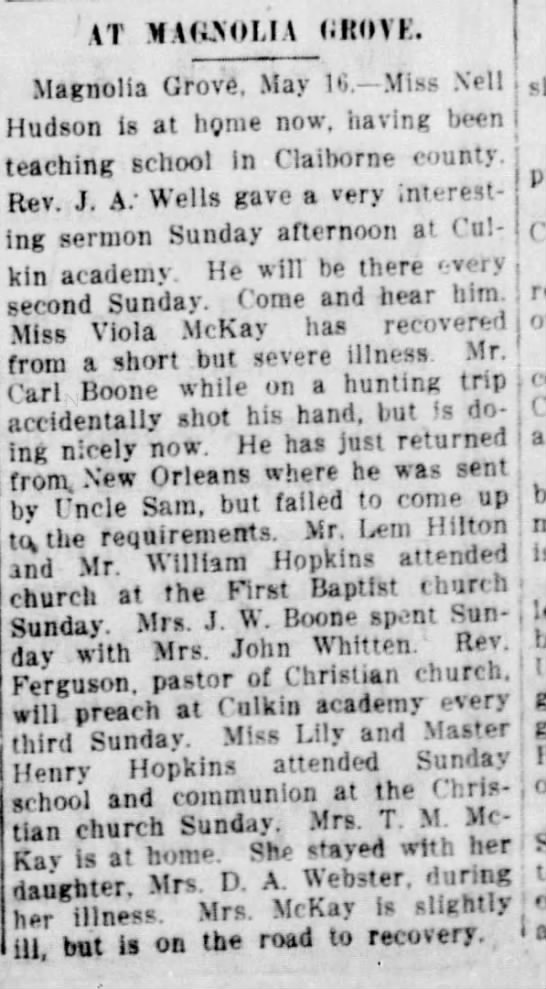 Vicksburg Evening Post 16 May 1918 -