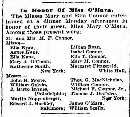 Another Scally party? 1904 -