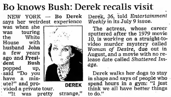 Bo_Knows_Bush_Derek_recalls_visit -