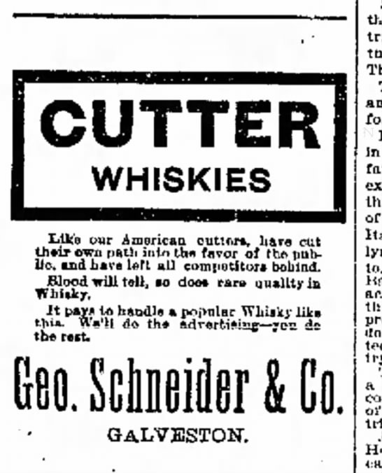 Cutter Whiskies -