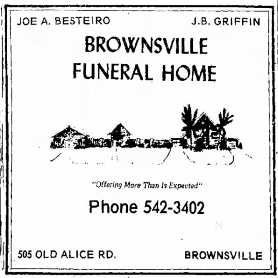 Brownsville Funeral Home -