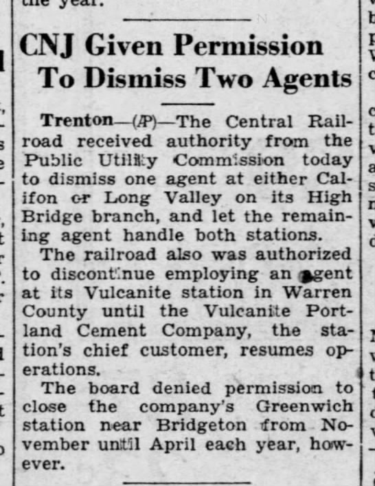 CNJ agents canned, January 5, 1934 -