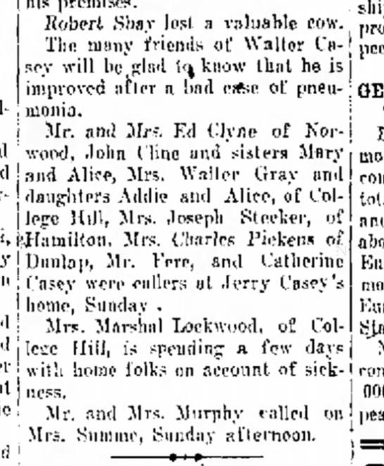 hamilton evening journal 3/23/1926 -