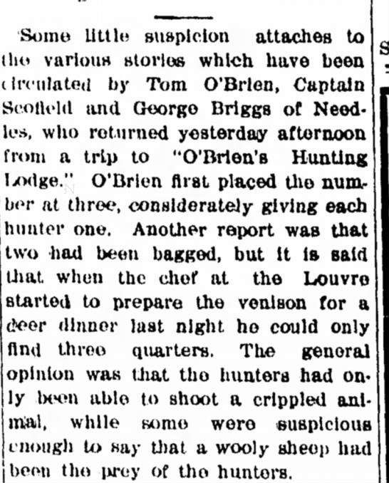 O'Brien's Hunting Lodge -