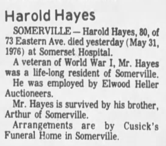 Harold Hayes Obituary - Newspapers com