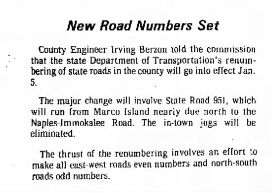New FL numbers, December 24, 1975 -