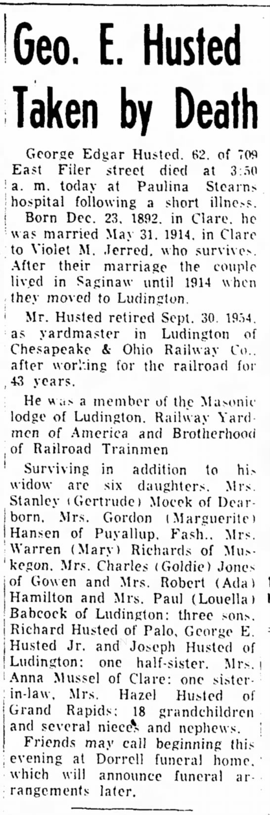 Ludington Daily News 21 Sep 1955 p3 -