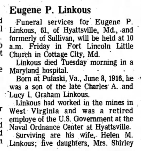 Eugene Paul Linkos -