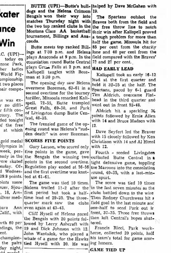 Daily Interlake 3 March 1960 -