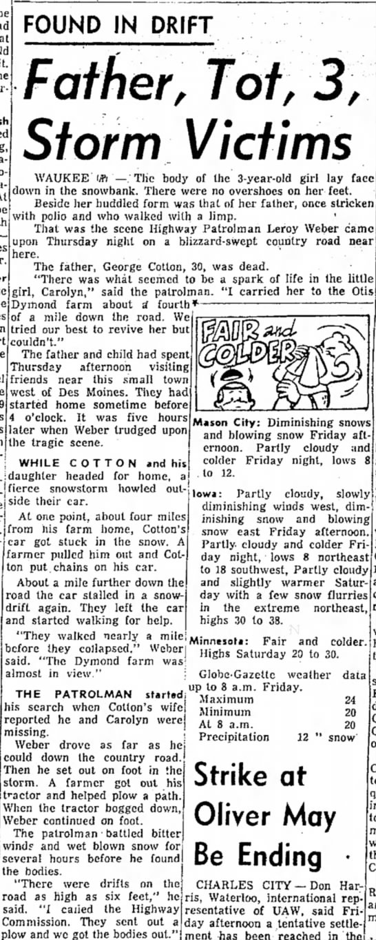 The Mason City Globe-Gazette 6 mar 1959 Friday -