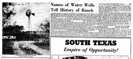 Laureles Ranch - Water Well Names -
