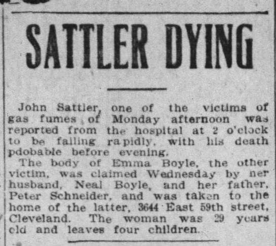 Sattler Dying -