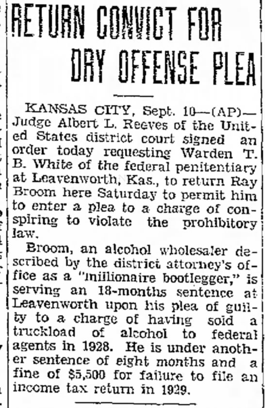 Jefferson City Post-Tribune, Jefferson City, MO 10 Sept 1931 pg 1 -