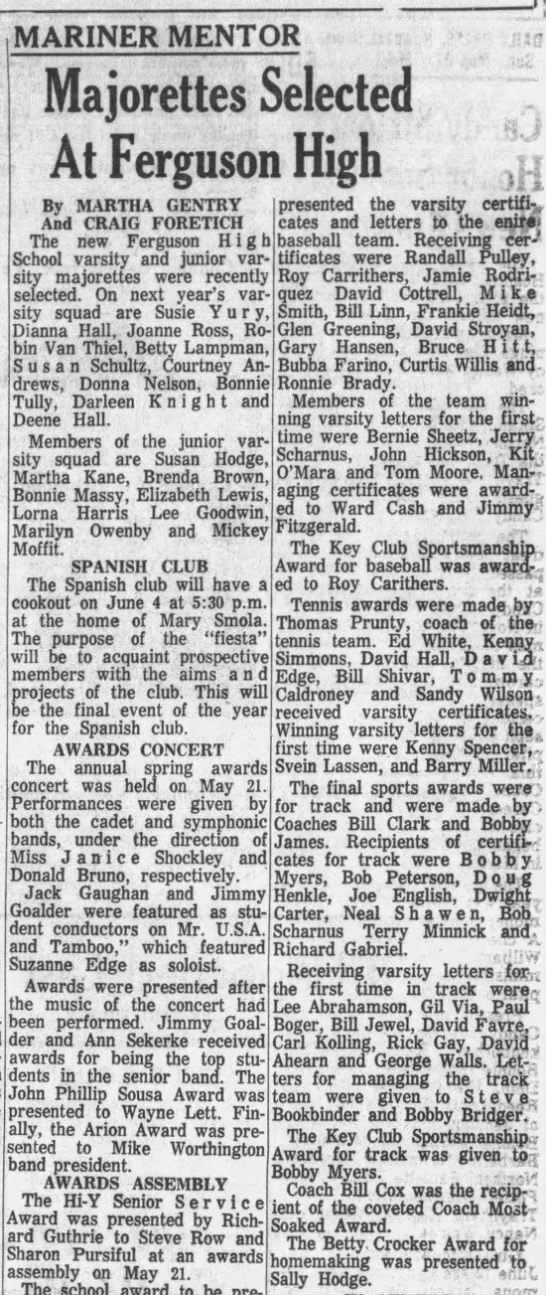 Daily Press in the Sunday, May 31, 1964 Edition -