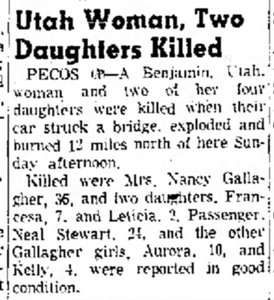 The Amarillo Globe-Times, August 14, 1956, page 3 -