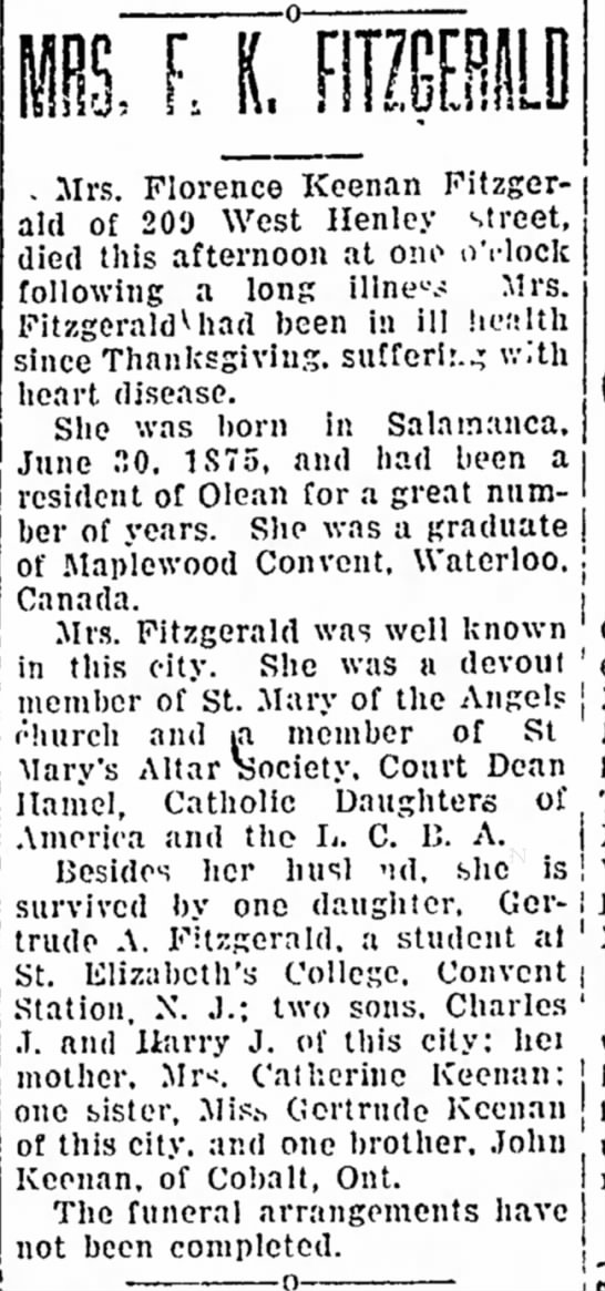 Times Herald, Olean, New york, 6 February 1926, page 9, column 3 -