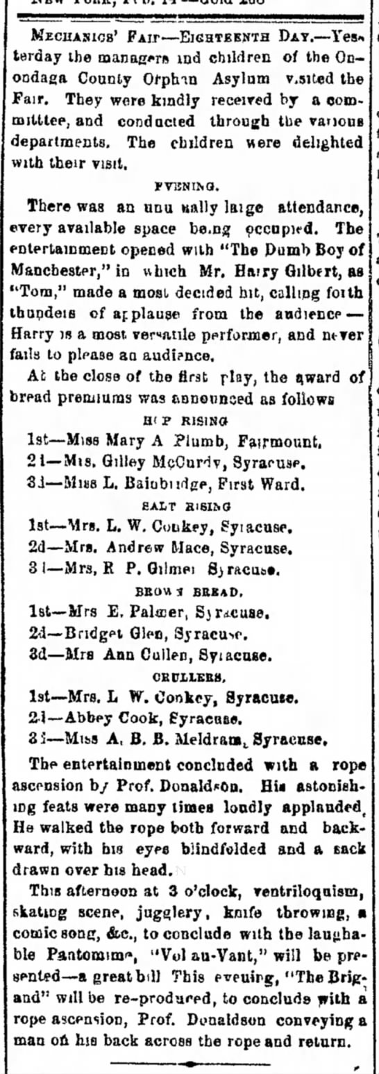 Syracuse Daily Courier And Union, Syracuse, New York, 15 February 1865. Page 3. -