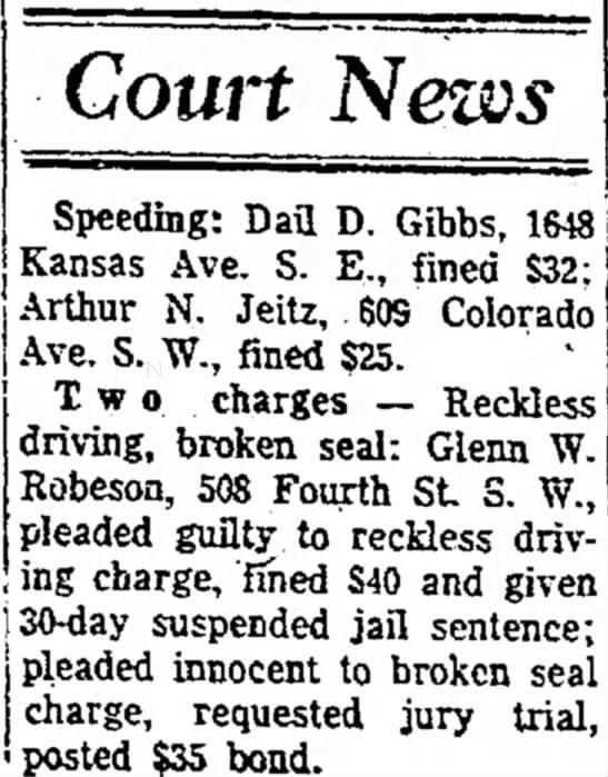The Daily Plainsman, Huron, SD, 20 May 1964. -