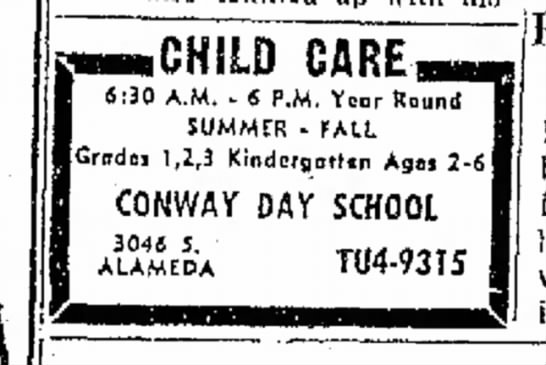 Conway Day School -